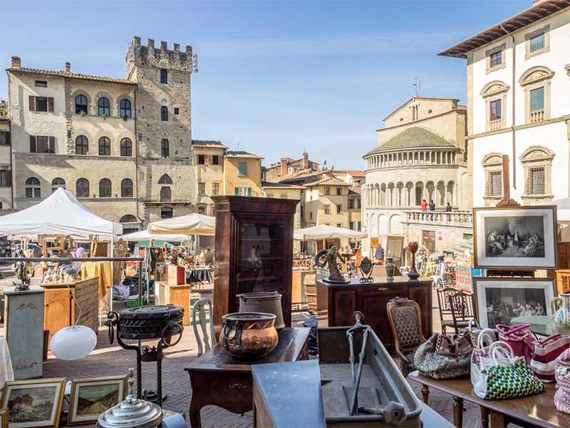 fiera dell'antiquariato di Arezzo